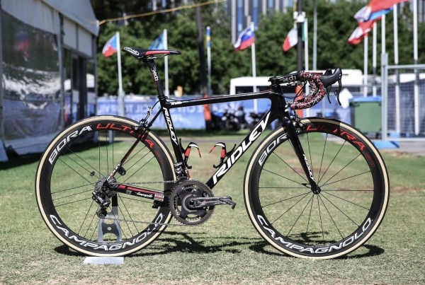 De Ridley van team Lotto Soudal